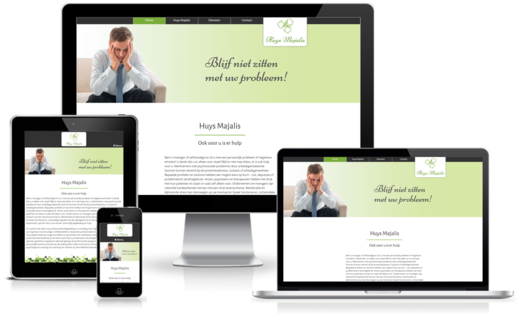Happit webdesign : project Huis Majalis