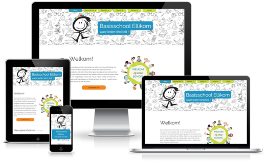 Happit webdesign : project basisschool Ellikom
